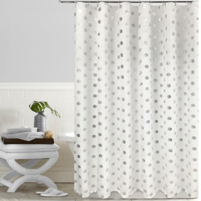 Spotlight Foil Printed Shower Curtain
