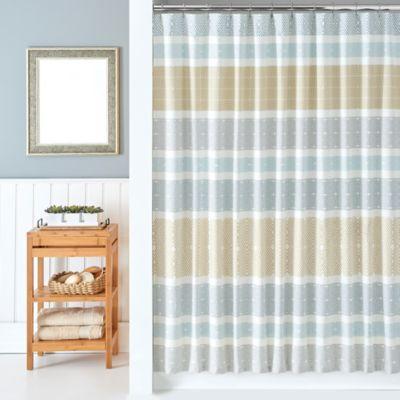 Modern Living Kilim Shower Curtain
