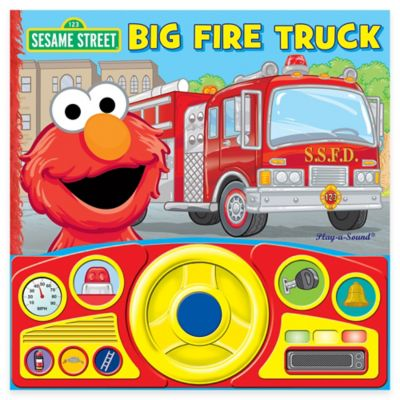 Sesame Street® Big Fire Truck Steering Wheel Sound Book