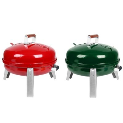 Americana Electric/Charcoal Wherever Grill in Red