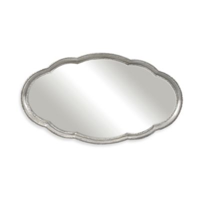 Uttermost 39-Inch x 70-Inch Guadiana Oversized Oval Mirror in Silver