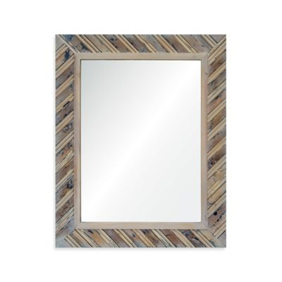 Natural Rectangular Mirror
