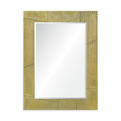 Ren-Wil 34-Inch x 46-Inch Dorado Rectangular Mirror in Gold