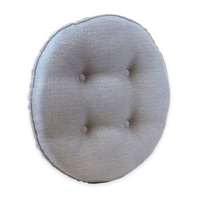 Klear Vu Universal Omega Non-Slip Barstool Cushion in Grey