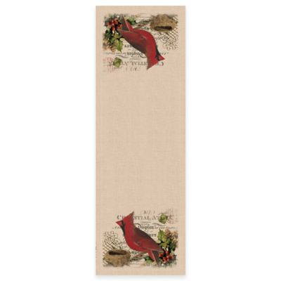 Natural Christmas Table Linens