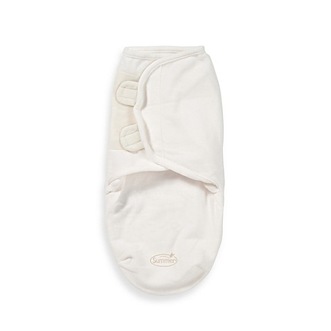 Summer Infant® SwaddleMe® Small Microfleece Infant Wrap in Ivory