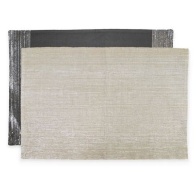 Park B. Smith Precious Metals Border Placemats in Linen (Set of 4)