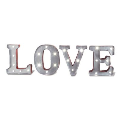 "Loft Living LED Marquee ""Love"" Sign"