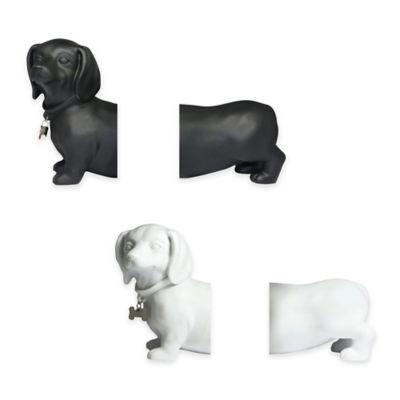 Danya B™ Dachshund Bookends in Black (Set of 2)