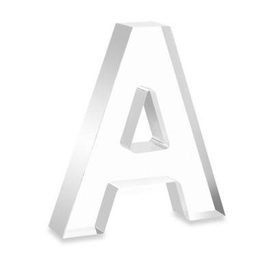 """Arte de Casa 5-Inch Letter """"A"""" in Clear Acrylic"""