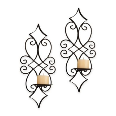Danya B™ Casablanca Iron Wall Sconces (Set of 2)