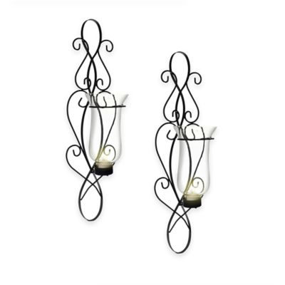 Danya B™ Baroque Iron Wall Sconce (Set of 2)