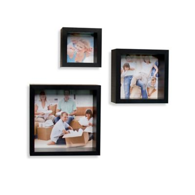 Danya B™ Wall Cube Floating Picture Frames (Set of 3)