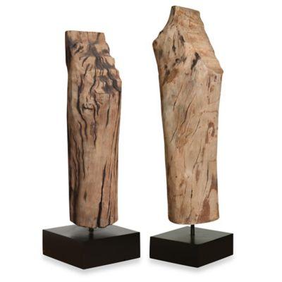 Uttermost Balsam Mango Wood Sculptures (Set of 2)