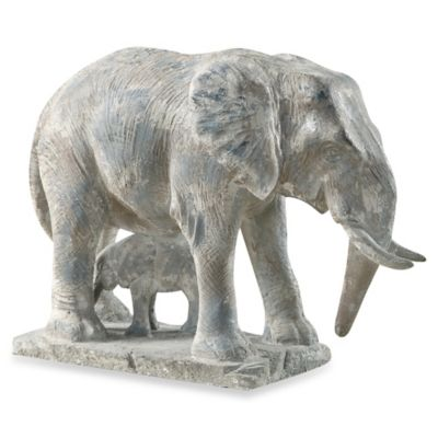Uttermost Standing Guard Elephant Statue