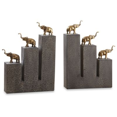 Uttermost Elephant Bookends (Set of 2)