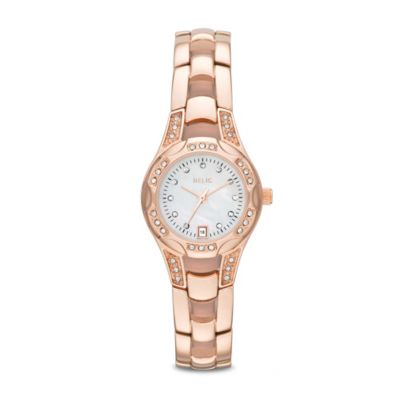 Rose Gold Accented Watch