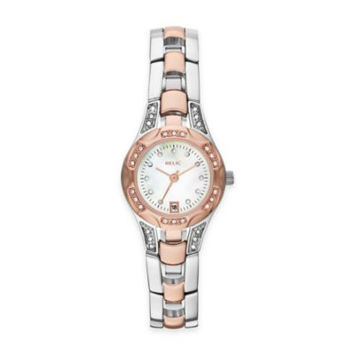 Multi Crystal-Accented Watch