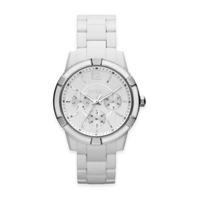 White Plastic Fashion Watches