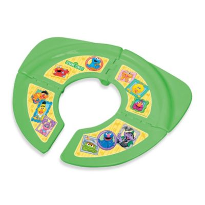Ginsey Sesame Street Folding Travel Potty Seat