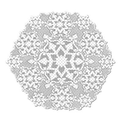 Heritage Lace® Glisten Snowflake Doily