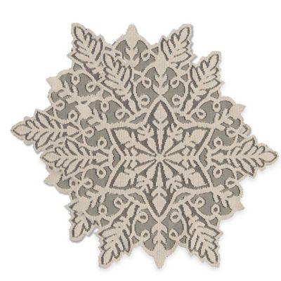 Silver Christmas Linens