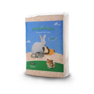 Easy Clean 40-Liter Small Animal Pine Pet Bedding in Beige