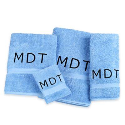 Avanti Super Soft Washcloth in Medium Blue