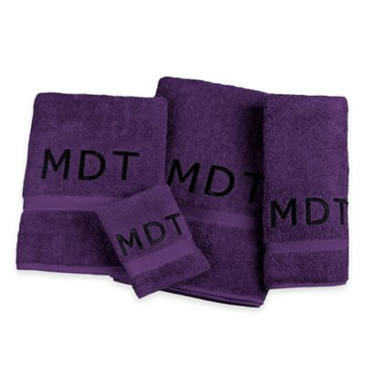 Purple Towels