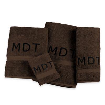 Avanti Super Soft Washcloth in Dark Chocolate