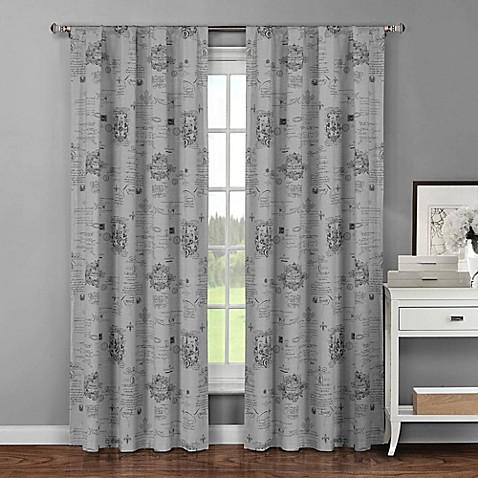 Buy Fleur De Lis 96 Inch Rod Pocket Window Curtain Panel