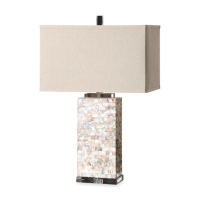 Uttermost Aden Capiz Shell Table Lamp