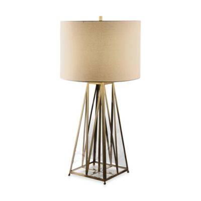 Uttermost Albanese Brushed Antiqued Brass Table Lamp