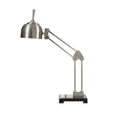 Uttermost Amado Brushed Nickel Swing Arm Desk Lamp