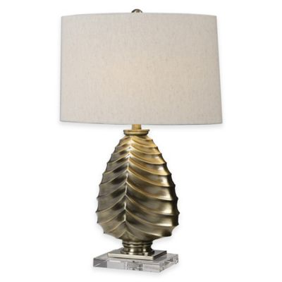 Uttermost Pieranica Antique Brass Table Lamp