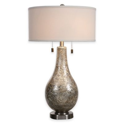 Uttermost Saracena Light Grey Table Lamp