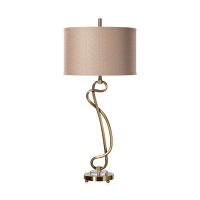 Brushed Brass Table Lamp