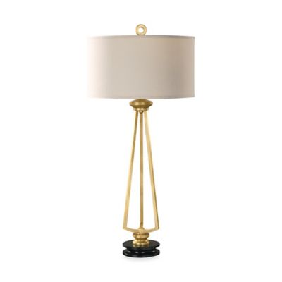 Uttermost Torano Antiqued Gold Leaf Table Lamp