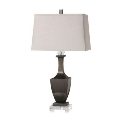 Uttermost Vitava Table Lamp in Rubbed Bronze