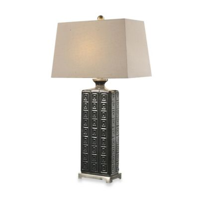 Uttermost Casale Table Lamp in Aged Grey