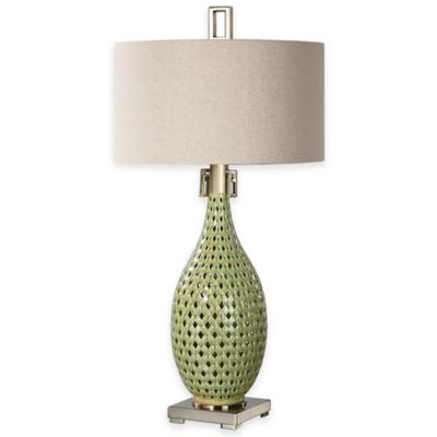 Uttermost Chamoru Glaze Table Lamp in Green