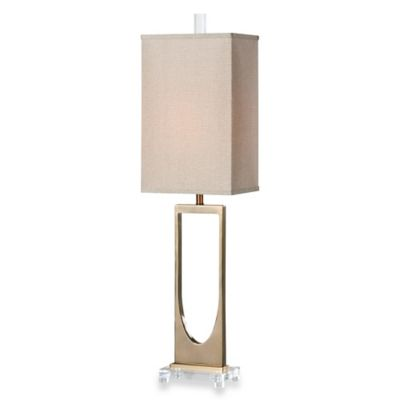 Uttermost Genivolta Table Lamp in Brass