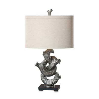 Gunmetal Table Lamp