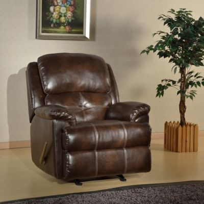 Pulaski Caroline Rocker Recliner in Darby Chocolate
