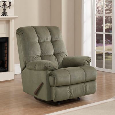 Pulaski Weaver Rocker Recliner in Sage