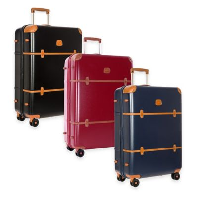 Bric's Bellagio 30-Inch 8-Wheel Spinner Trunk in Red