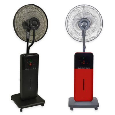 The Original Sunheat CoolZone CZ500 Ultrasonic Dry Misting Fan in Black