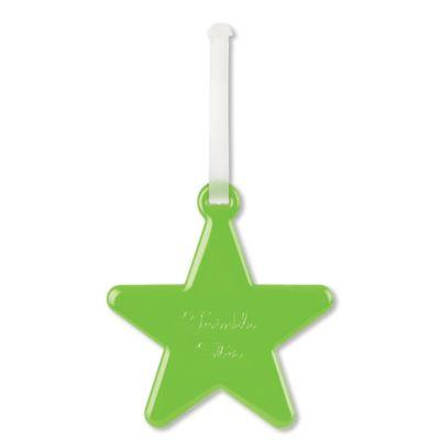 ALIFE DESIGN Happy Flight Star Luggage Tag in Green