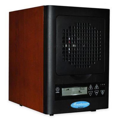 The Original Sunheat Mountainaire HEPA 6-Stage Air Purifier in Cherry