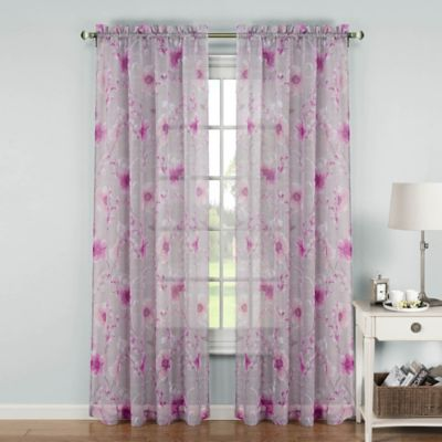Buy Light Pink Window Curtains From Bed Bath Beyond
